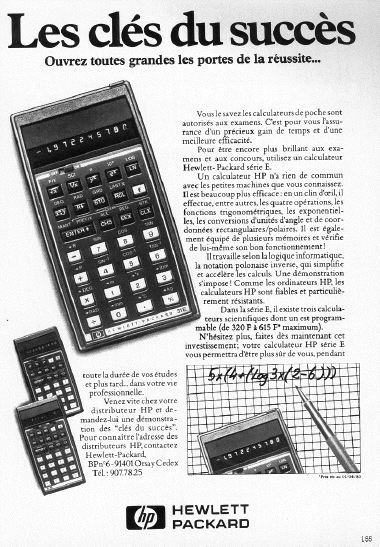 Innovations et calculatrices